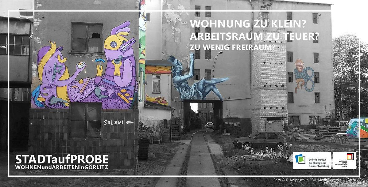 Görlitz auf Probe - Vier Wochen Wohnen und Arbeiten in der Europastadt