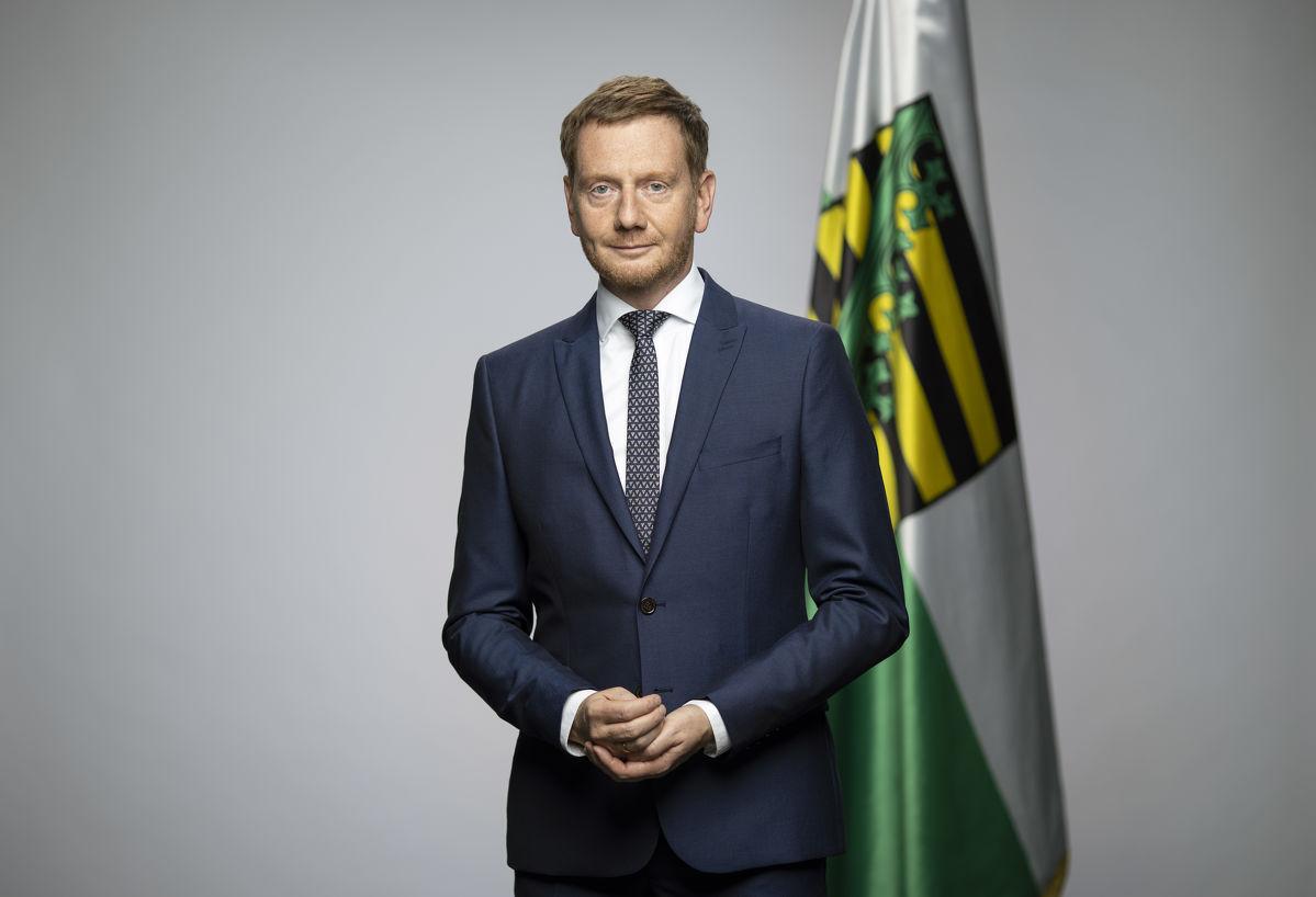 Ministerpräsident Kretschmer im Talk bei Oberlausitzer Karrieretagen